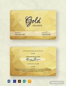 Free Membership Cards 12 Free Membership Card Templates Word Doc Psd