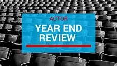 Year End Review Year End Review Of Your Acting Career Marketing4actors