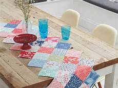 how to sew a patchwork table runner s weekly