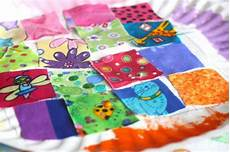 fabric crafts quilting paper plate quilt craft happy hooligans