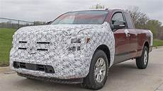 2020 Nissan Titan Updates by 2020 Nissan Titan Spied With Interior Exterior Updates