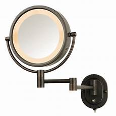Jerdon Lighted Mirror Jerdon Hl65bzd 8 Quot Lighted Wall Mount Mirror 1x 5x