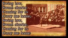 swing low lyrics quot swing low sweet chariot quot bluegrass gospel hymn with
