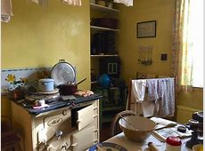 All Kitchens Great and Small   The 1940?s English Farmhouse of James Herriot ? Kitchen
