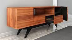 78 quot stunning mid century modern iron wood media console
