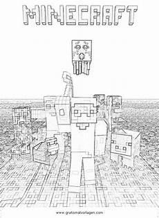 Malvorlagen Minecraft Versilia Minecraft Ausmalbilder Gratis 01 Resim