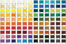 Mab Paint Color Chart Williamsburg Oil Paint Printed Colour Chart Jackson S