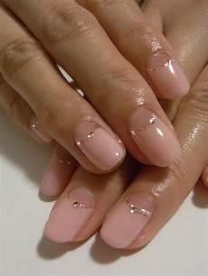 Neutral Nail Designs Simple Nail Lame Stone Light Pink Manicura De U 241 As