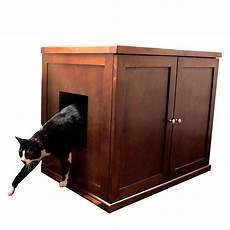 the refined feline litter box large mahogany ca