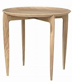 objects tray table oak