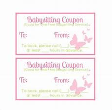 Babysitting Coupon Templates 11 Baby Sitting Coupon Templates Psd Ai Indesign