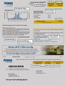 Atmos Energy Customer Service Mid Tex Bill Details Atmos Energy