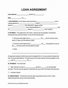 Personal Loans Template 40 Free Loan Agreement Templates Word Amp Pdf ᐅ Templatelab
