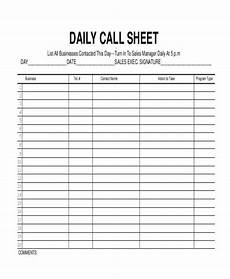Call Log Template For Excel Free 17 Call Log Templates In Pdf