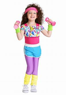 toddler workout clothes work it out 80s costume for toddler