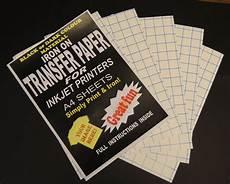 Dark And Light How To Get Iron Inkjet Iron On T Shirt Fabric Transfer Paper A4 20pk Dark