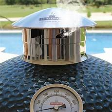 Smokeware Grill Light Smokeware Chimney Caps Fits Big Green Egg And Kamado Joe