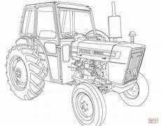 kolorowanka traktor ford 3600 kolorowanki dla dzieci do