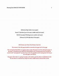 Apa Title Page Format Template 40 Apa Format Style Templates In Word Amp Pdf ᐅ Templatelab