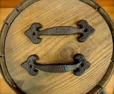 2 brown antique style 6 75 quot rustic spade drawer door