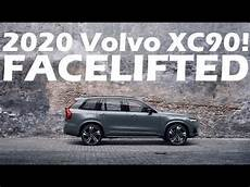 volvo new xc90 2020 2020 volvo xc90 facelift revealed