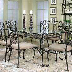 glass dining room sets wescot rectangular dining room set cramco 2 reviews