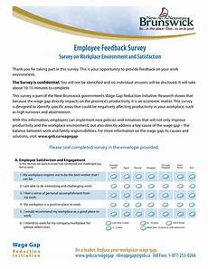 Employee Feedback Survey Free 12 Building Satisfaction With Feedback Forms In Pdf