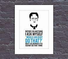 The Office Poster The Office Poster Dwight Quote Poster The Office Tv Show