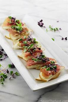 appetizers asian asian pear prosciutto appetizers savor the best