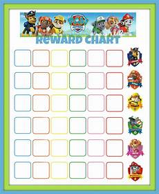 Free Printable Potty Chart Paw Patrol Paw Patrol Reward Chart Potty Training Sticker Chart