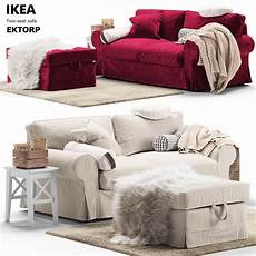 Ektorp Sofa Bed 3d Image by Pouf Sofa Ectorp Ikea 3d Cgtrader