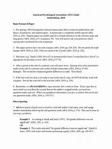 Apa Style Literature Review Example Of Literature Review Apa Style 2010 How To Write