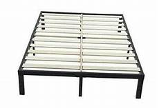 ziyoo king size bed frame no box needed 14 inch