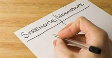 A List Of Strengths And Weaknesses 4 Steps For How To Identify Your Strengths And Weaknesses