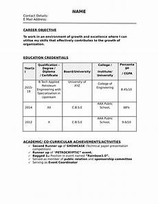 resume format for job interview free download resume format 2020 32 resume templates for freshers