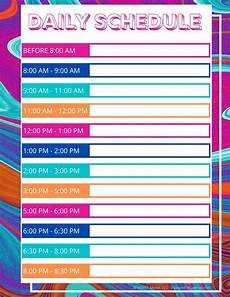 Printable Daily Schedule Kids Daily Schedule For Kids While They Are All Home Right Now