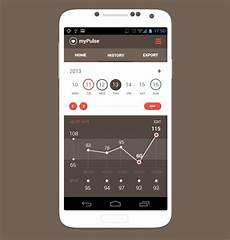 Moil Chart 25 Mobile App Mobile App Graphs And Charts Designs