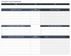 Goal Sheet Template Free Goal Setting And Tracking Templates Smartsheet