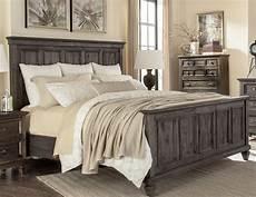 charcoal gray 6 cal king bedroom set calistoga