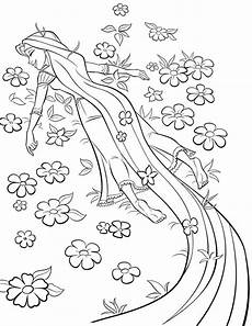 21 pretty image of rapunzel coloring pages