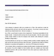 Job Offer Template Word Offer Letter Template 15 Free Word Pdf Documents