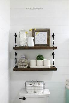 shelves in bathroom ideas 26 best farmhouse shelf decor ideas and designs for 2020