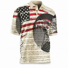 americana clothes for guide gear s americana polo shirt 199643 shirts at