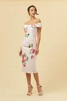 the pretty dress company thea lamour florall motif pencil