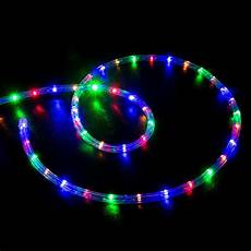 Led Rope Christmas Lights 50 Multi Color Rgb Led Rope Light Home Outdoor