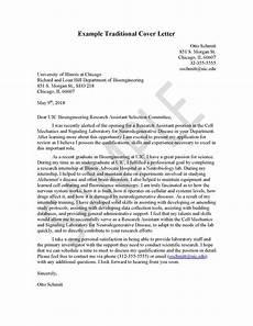 Example Letter Cover Letter Engineering Career Center University Of