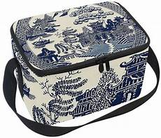 Alterations By Carla Willow Designs Blue Willow Lunch Coolers With Images Blue Willow