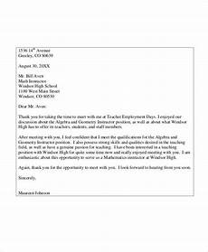 Letters To Teachers From Students Free 10 Sample Teacher Thank You Letter Templates In