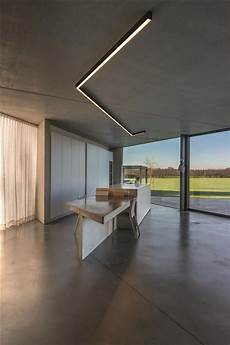 Delta Lighting Systems Inc Stunning Concrete House Project With 2u Lighting System By