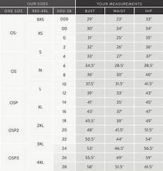 And Size Chart Sizing Guide Elizabeth Suzann